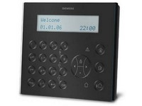 Externí LCD klávesnice s velkým displejem a vestavěným ukazatelem, černá