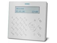 Externí LCD klávesnice s velkým displejem a vestavěným ukazatelem, bílá