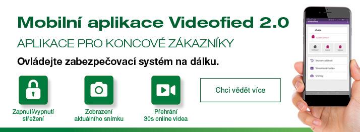 Videofied aplikace